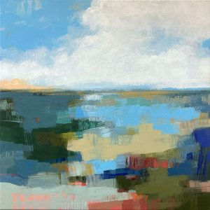 Carlyn Janus abstract colorful landscape
