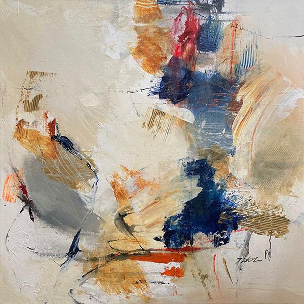 Natasha Barnes abstract colorful painting