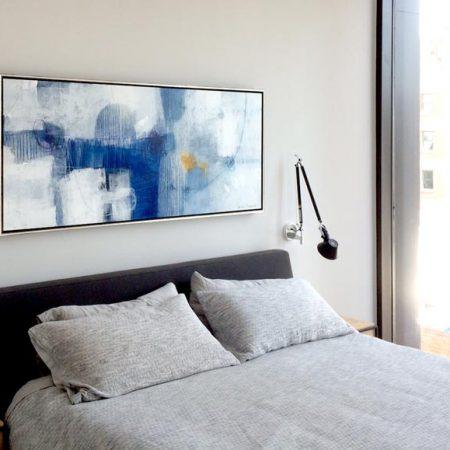 Urban Penthouse Chic & Minimal in Blue
