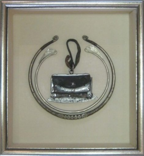 Ancient Tibetan Necklace and Knife